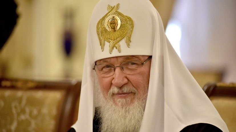 Патриарх Кирилл: во главе интернета будет стоять Антихрист