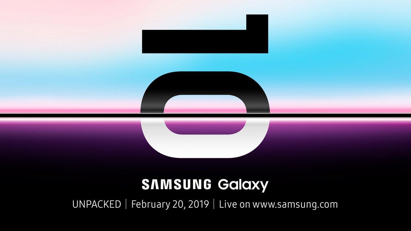 Samsung назвала дату анонса флагманских смартфонов Galaxy S10