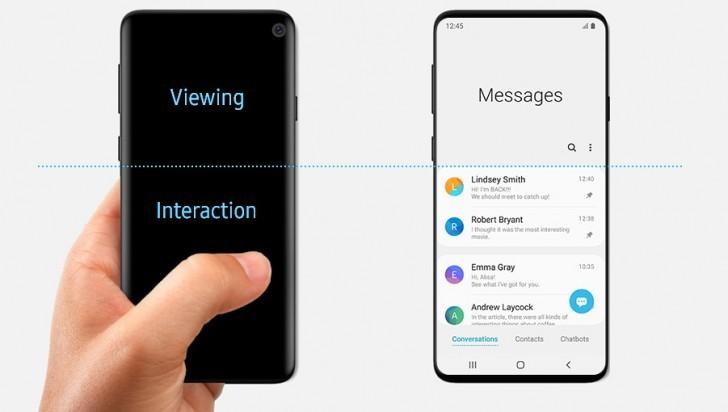 Samsung случайно показала смартфон Galaxy S10