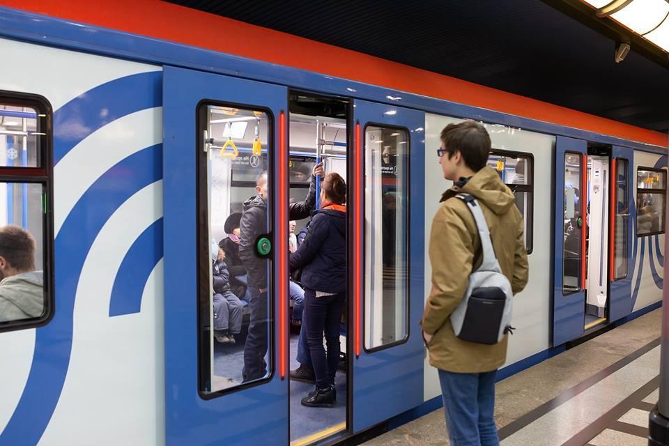 За 2018 год в Московском метро скачали в 14 раз больше гигабайт