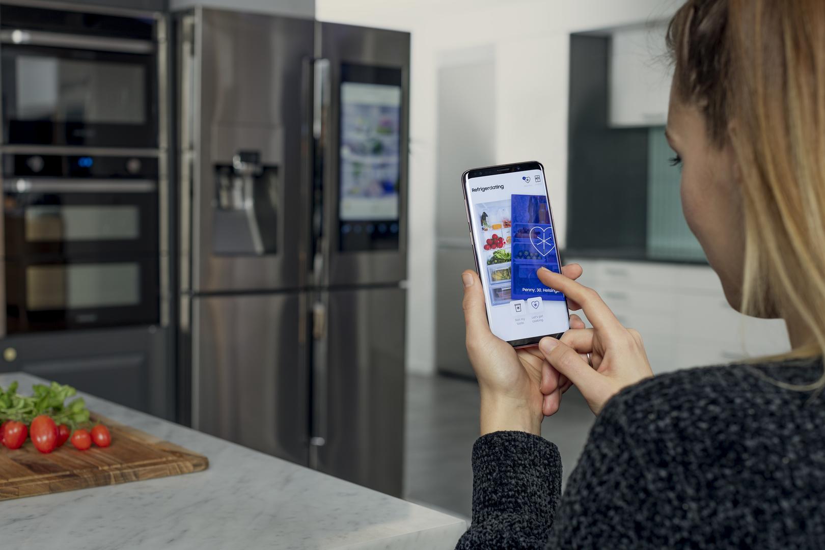 Сервис знакомств Samsung позволяет найти любовь по фотографиям содержимого холодильника