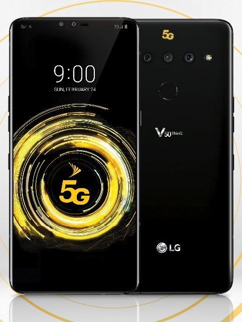 Рассекречен дизайн флагманского LG V50 ThinQ