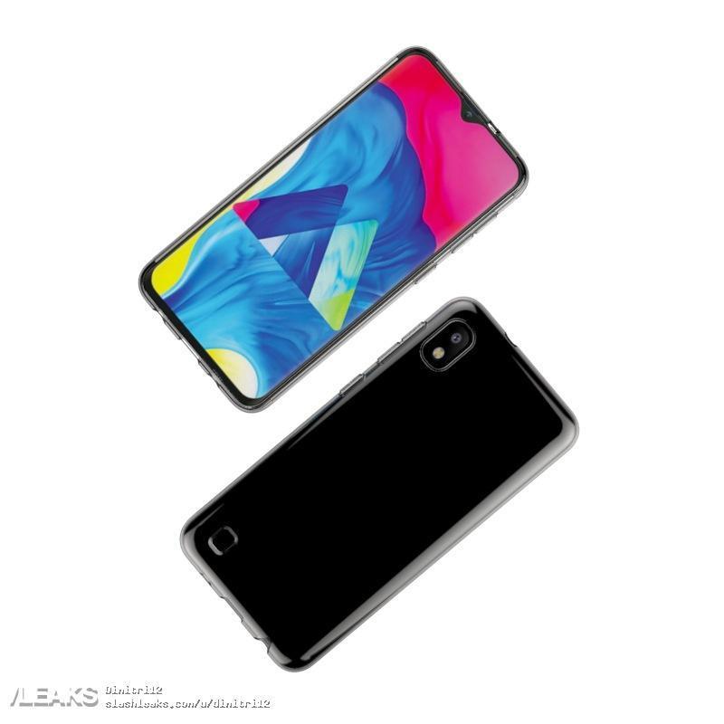 Производитель чехлов показал cмартфон Samsung Galaxy A10 c дисплеем Infinity-V