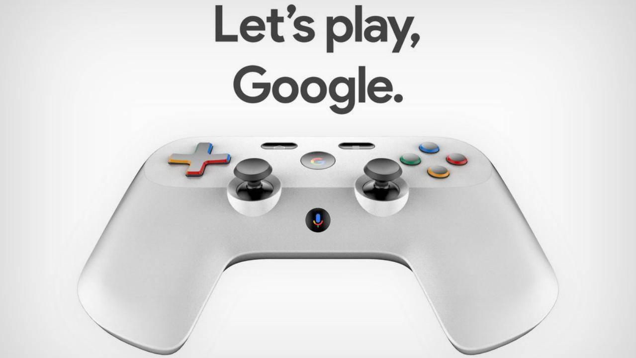 Раскрыт дизайн контроллера игровой онлайн-консоли Google