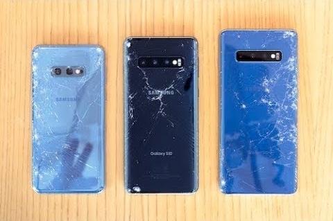 Смартфоны Samsung Galaxy S10 провалили тест на прочность SquareTrade