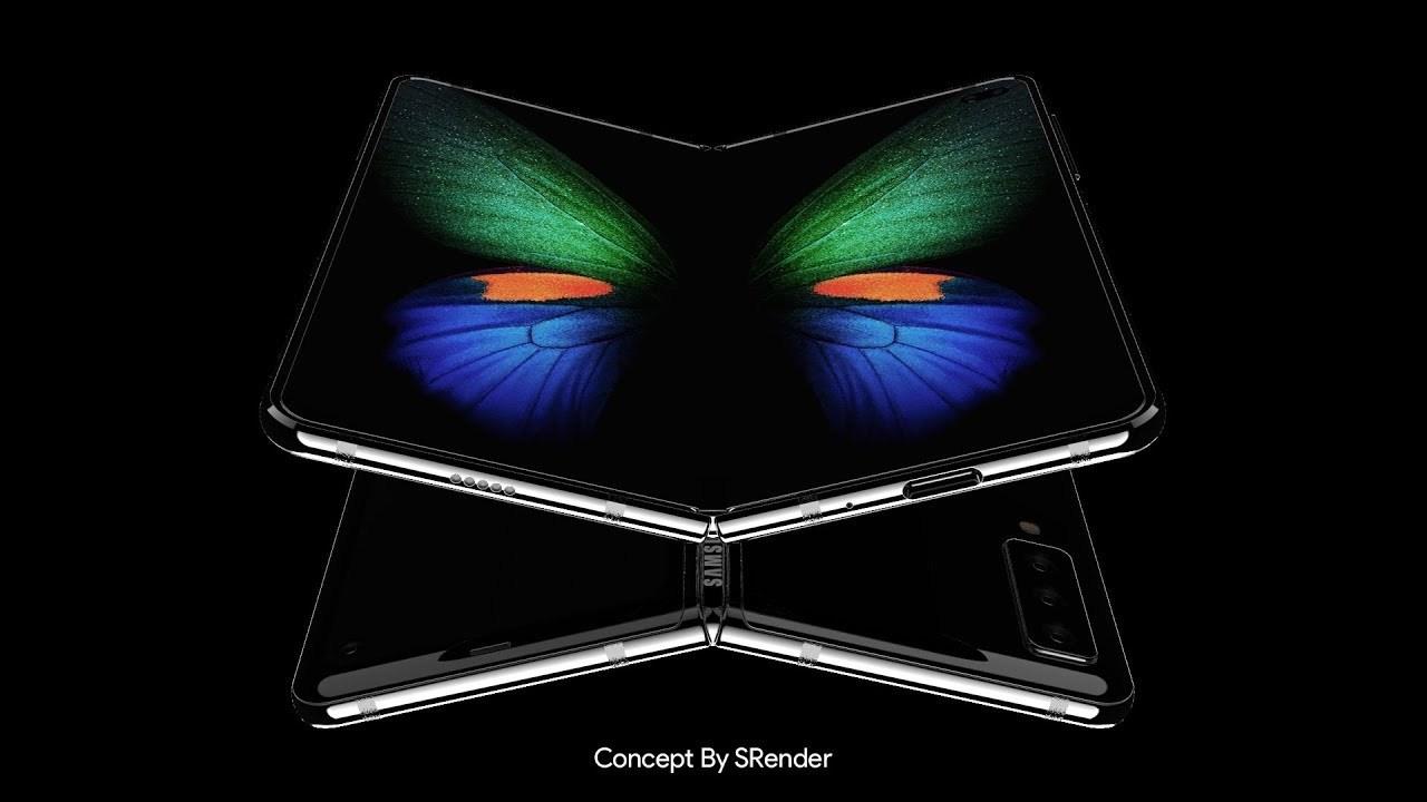 Складной смартфон Samsung Galaxy Fold 2 с гибким дисплеем показался на видео