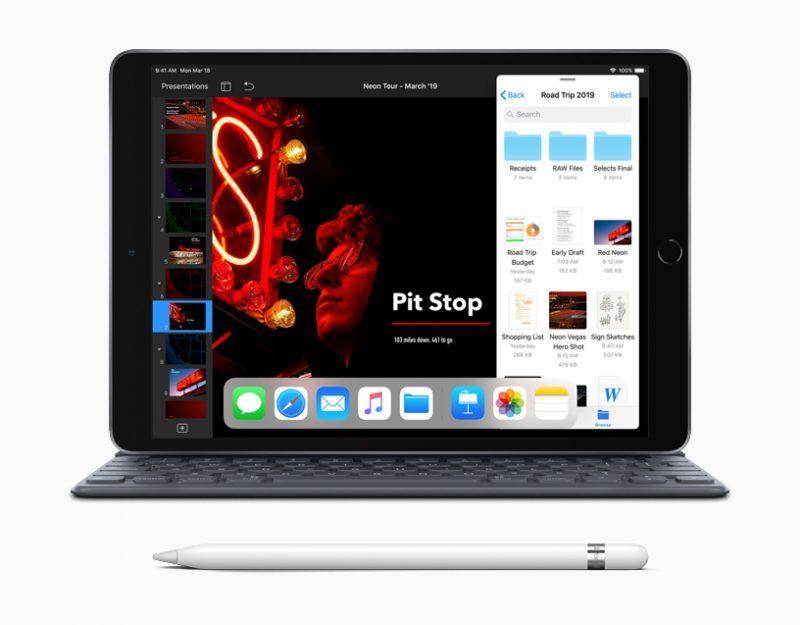 Apple представила новый iPad Air с поддержкой Apple Pencil