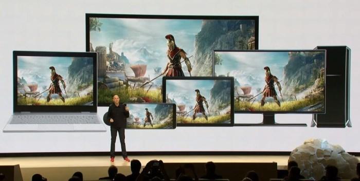 Google представила игровой стриминговый сервис Stadia
