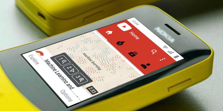 Google выпустит адаптированный для кнопочных телефонов Android