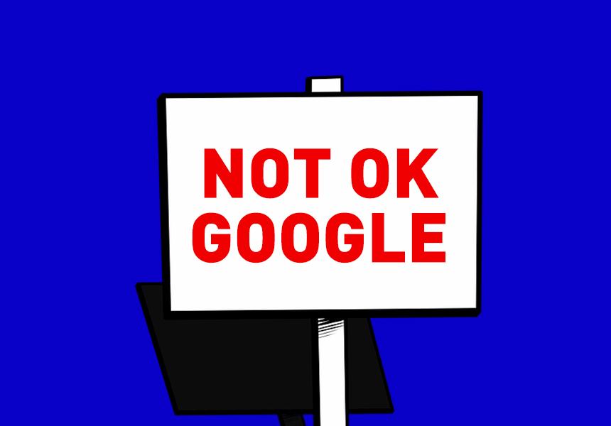 Сотрудники Google провели сидячую забастовку против мести руководства за забастовки