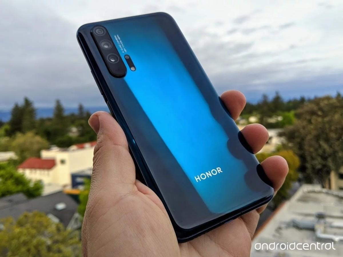 Флагманский смартфон Honor 20 Pro изучили в подробностях до анонса