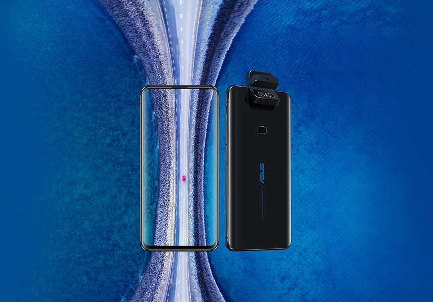 ASUS представила флагман Zenfone 6 с поворотной камерой