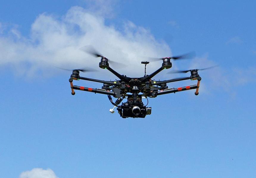 ФСБ: террористы используют дроны для доставки химического оружия