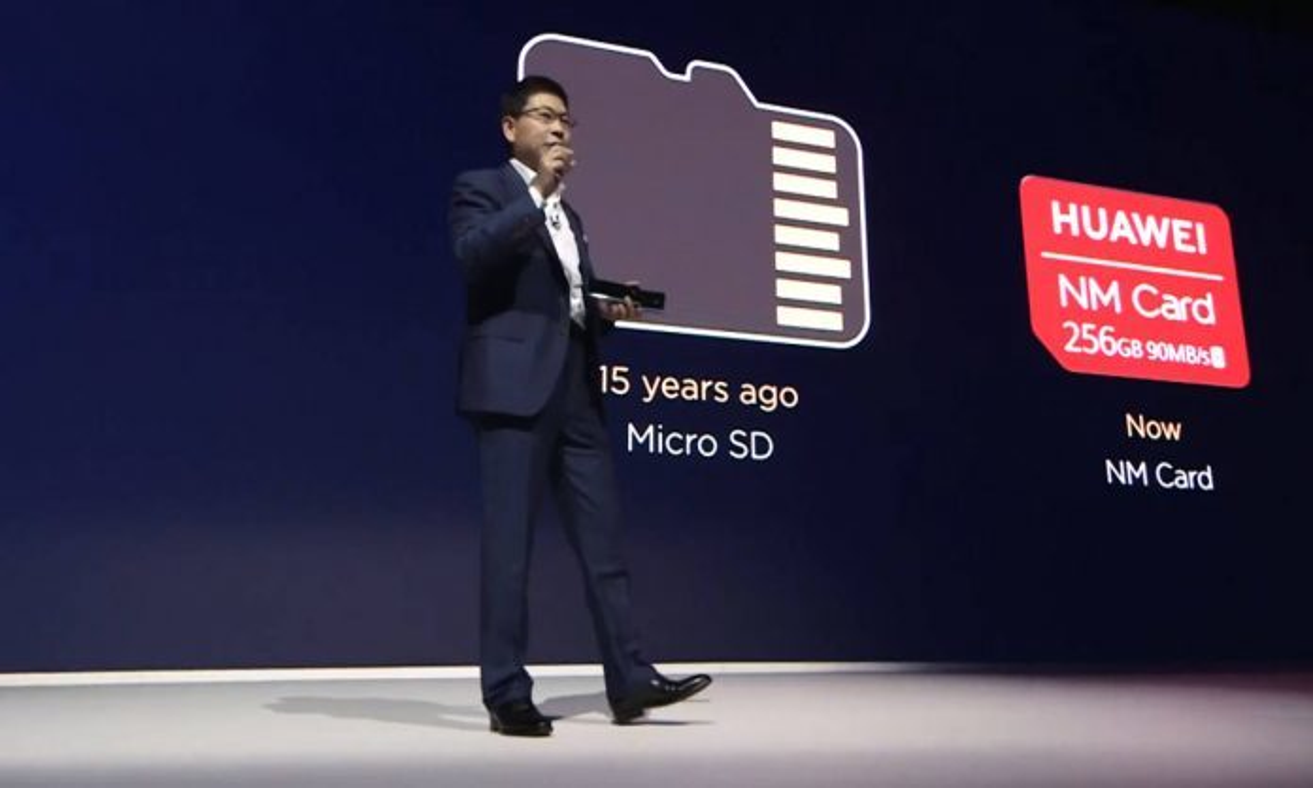 Смартфоны Huawei оставили без карт памяти