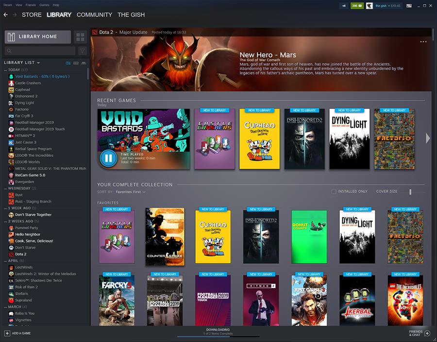 Valve готовится к запуску нового Steam