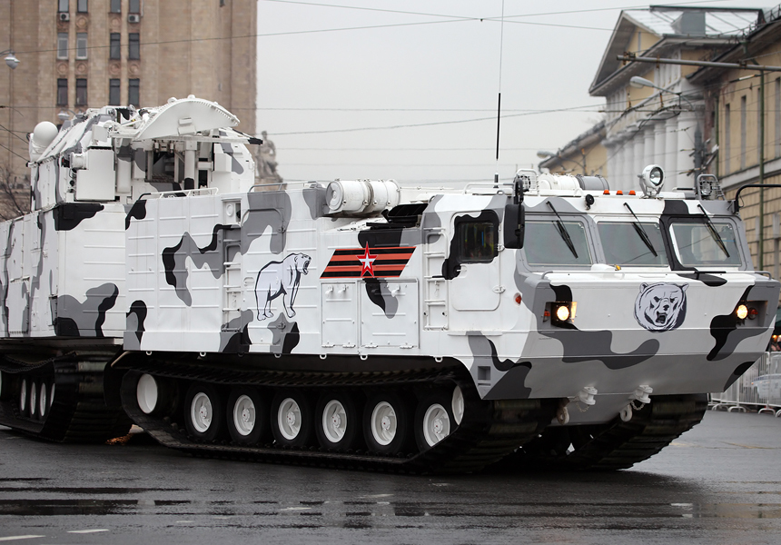 Северный флот России получил арктические «Торы»