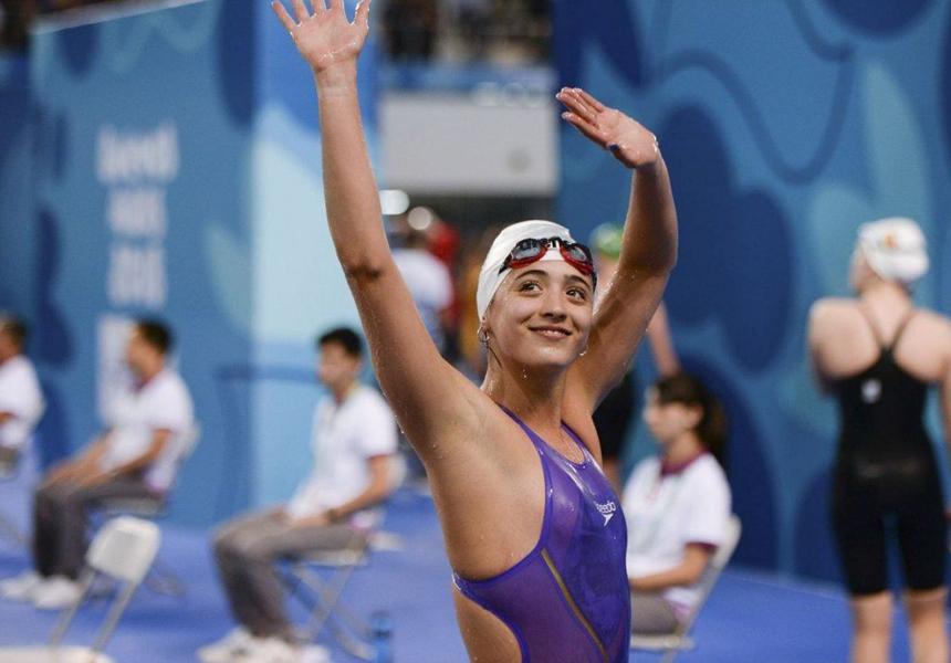 Спортсмен забыл снять AirPods и установил в них рекорд по плаванию