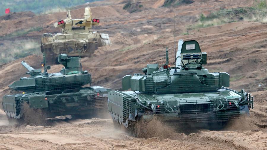Россия отправила на Дальний Восток танки с новыми пушками и двигателями