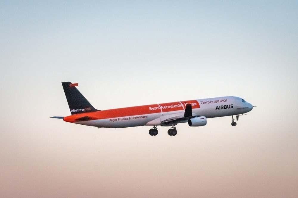 Протестирован самолёт, машущий крыльями