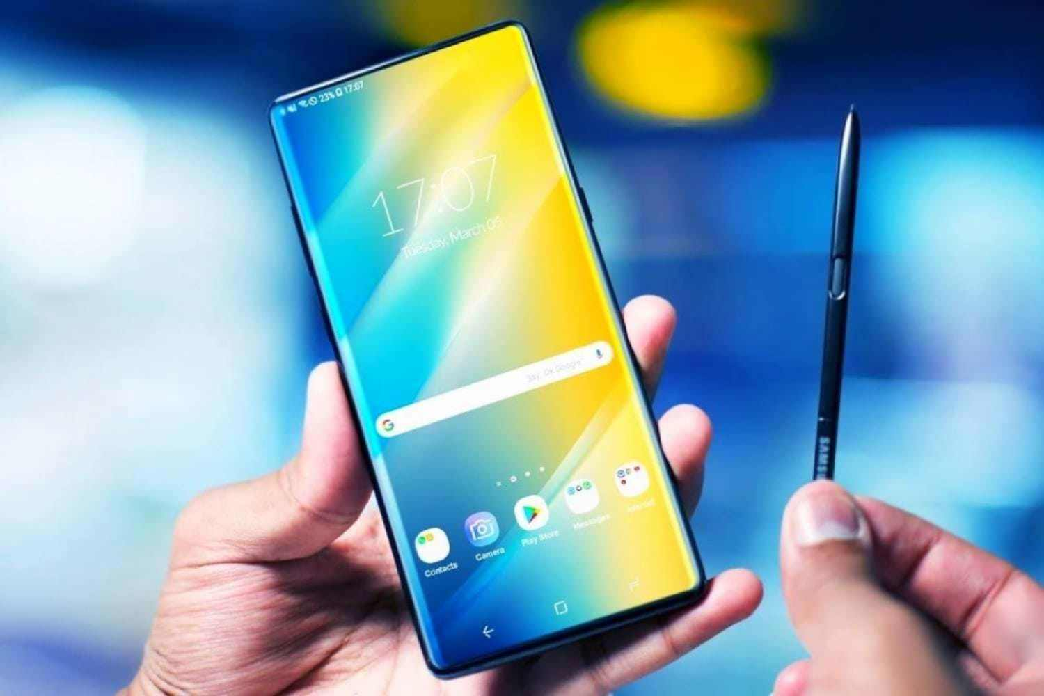 Официальные изображения Samsung Galaxy Note 10 утекли до анонса
