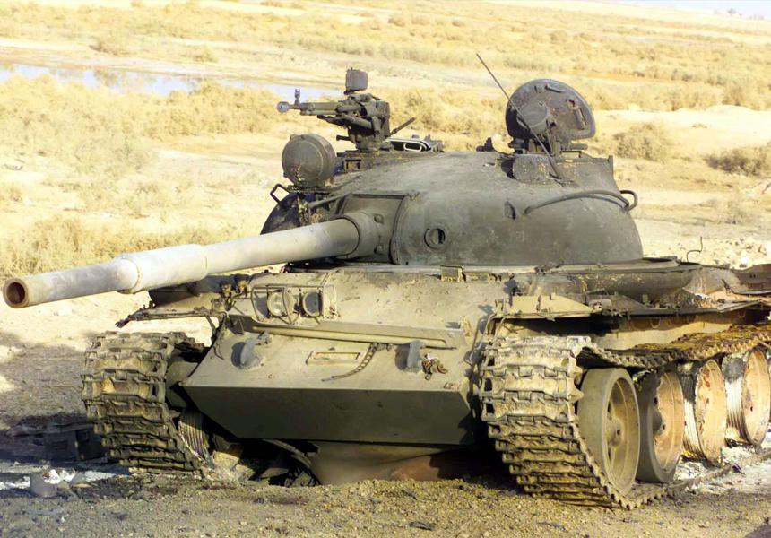 Россия будет продавать африканцам запчасти для танков 50-летней давности
