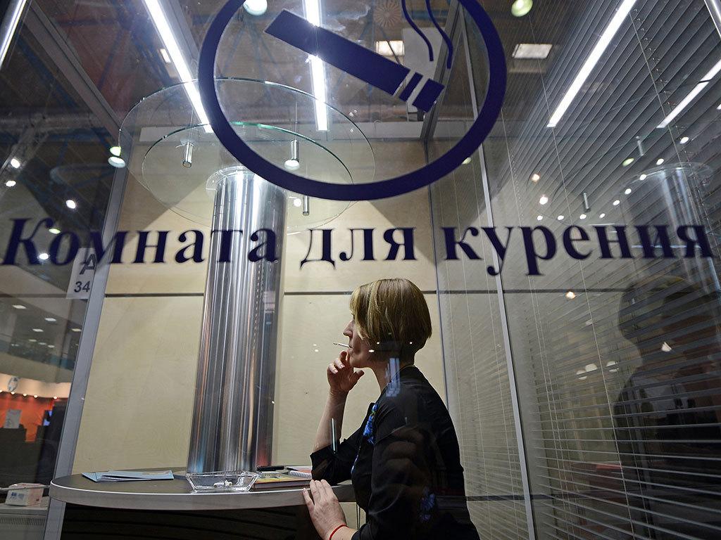 В России отменят запрет на курение в аэропортах