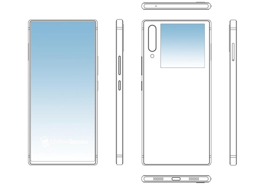 ZTE показала новый вариант смартфона с двумя экранами