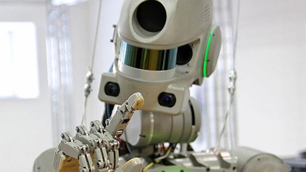 Роскосмос объяснил причину отправки человекообразного робота в космос