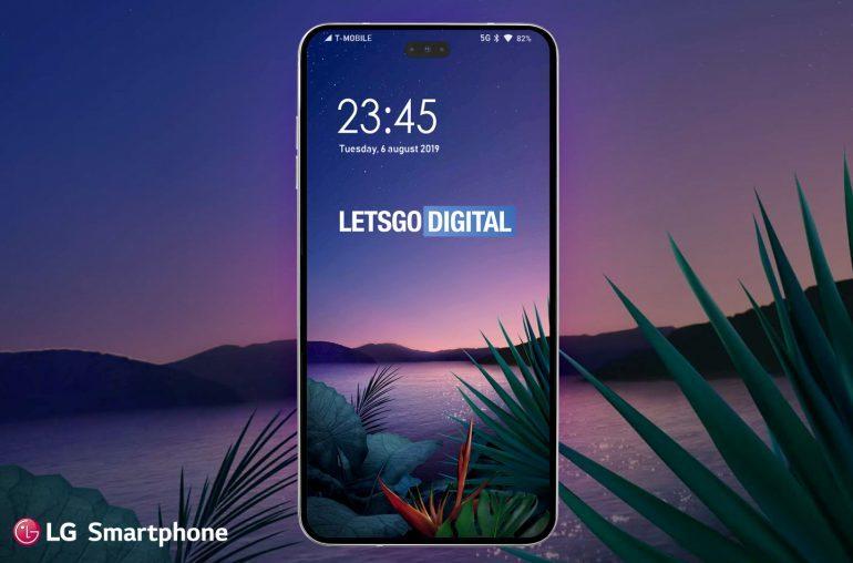 LG готовит смартфон с огромной дырой в экране