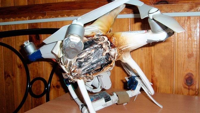 Украина атакует ДНР дронами с привязанной гранатой
