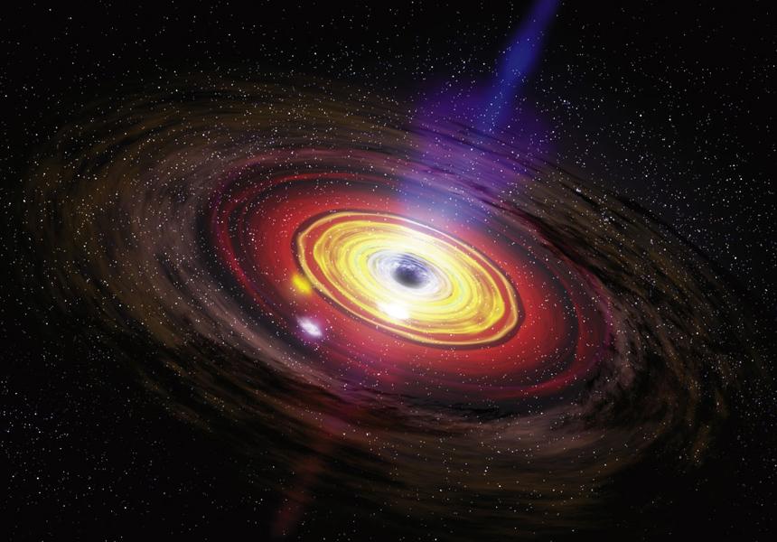 Чёрная дыра в центре Млечного Пути разбушевалась