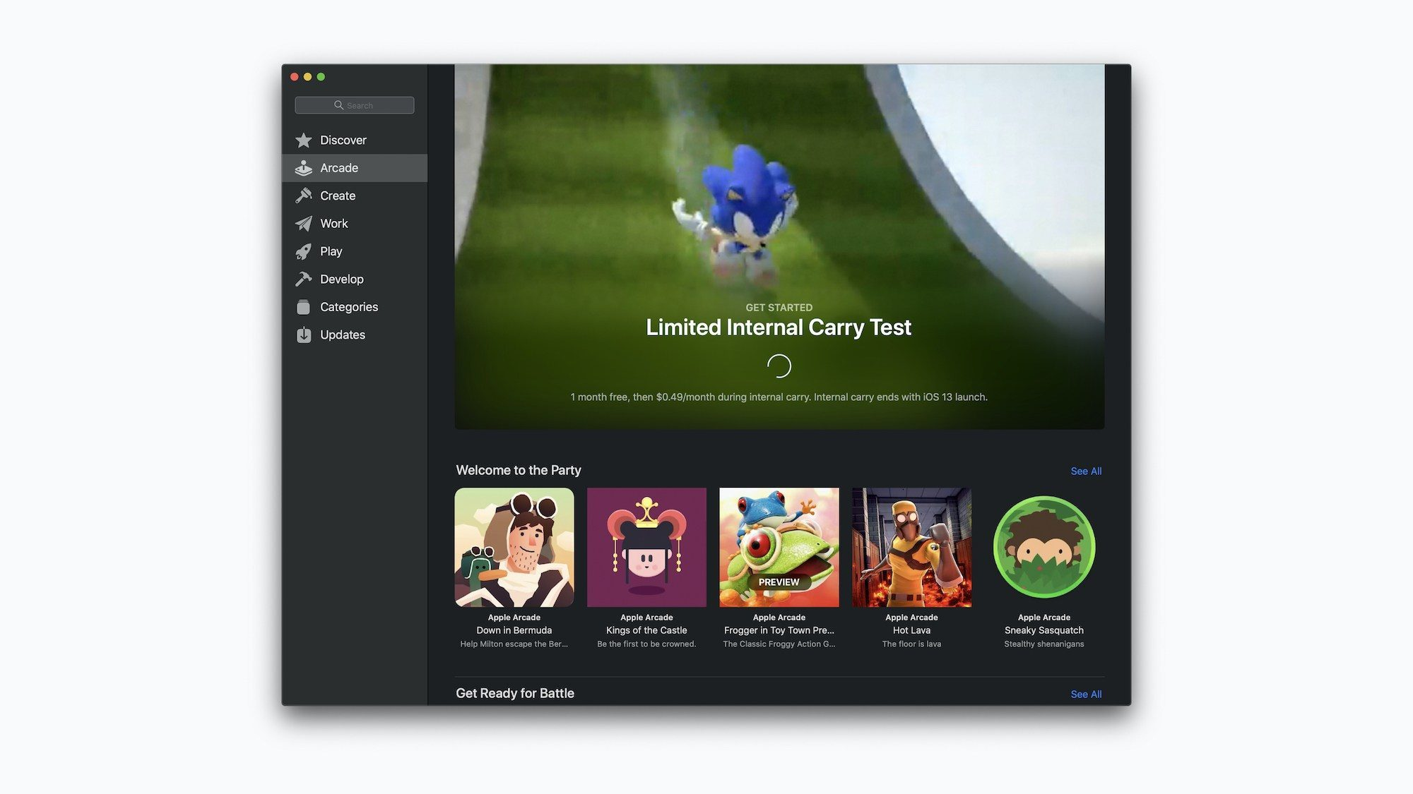 Apple уже тестирует игровой сервис Arcade на сотрудниках