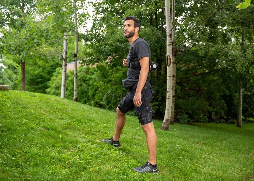 Учёные создали шорты для бега, благодаря которым человек чувствует, будто меньше весит