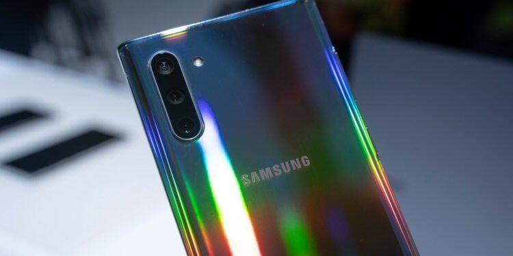 В России начались продажи флагманского Samsung Galaxy Note 10