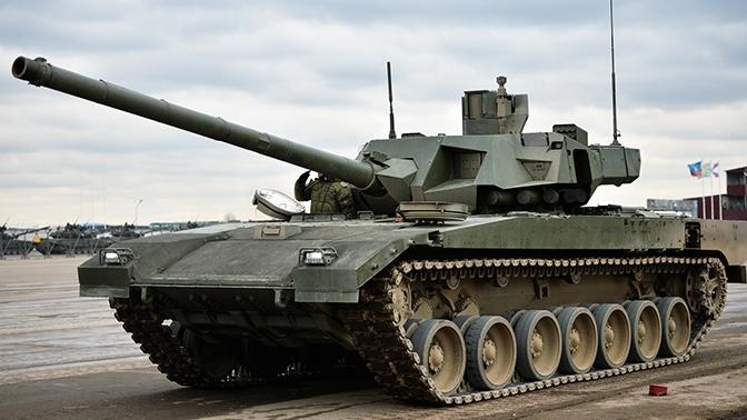 Новейший танк Армата признали небоеспособным