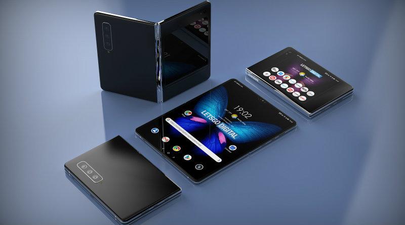 Внешность нового складного смартфона Samsung показали на качественных изображениях