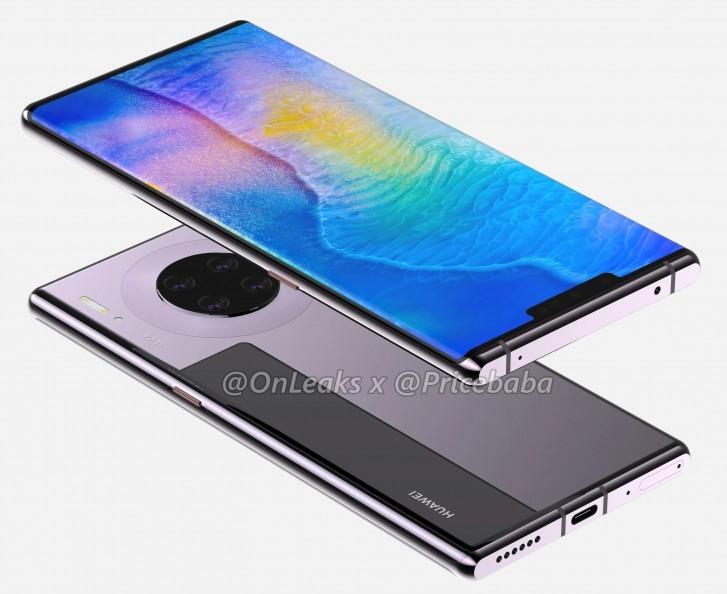 Дизайн осеннего флагмана Huawei полностью рассекречен