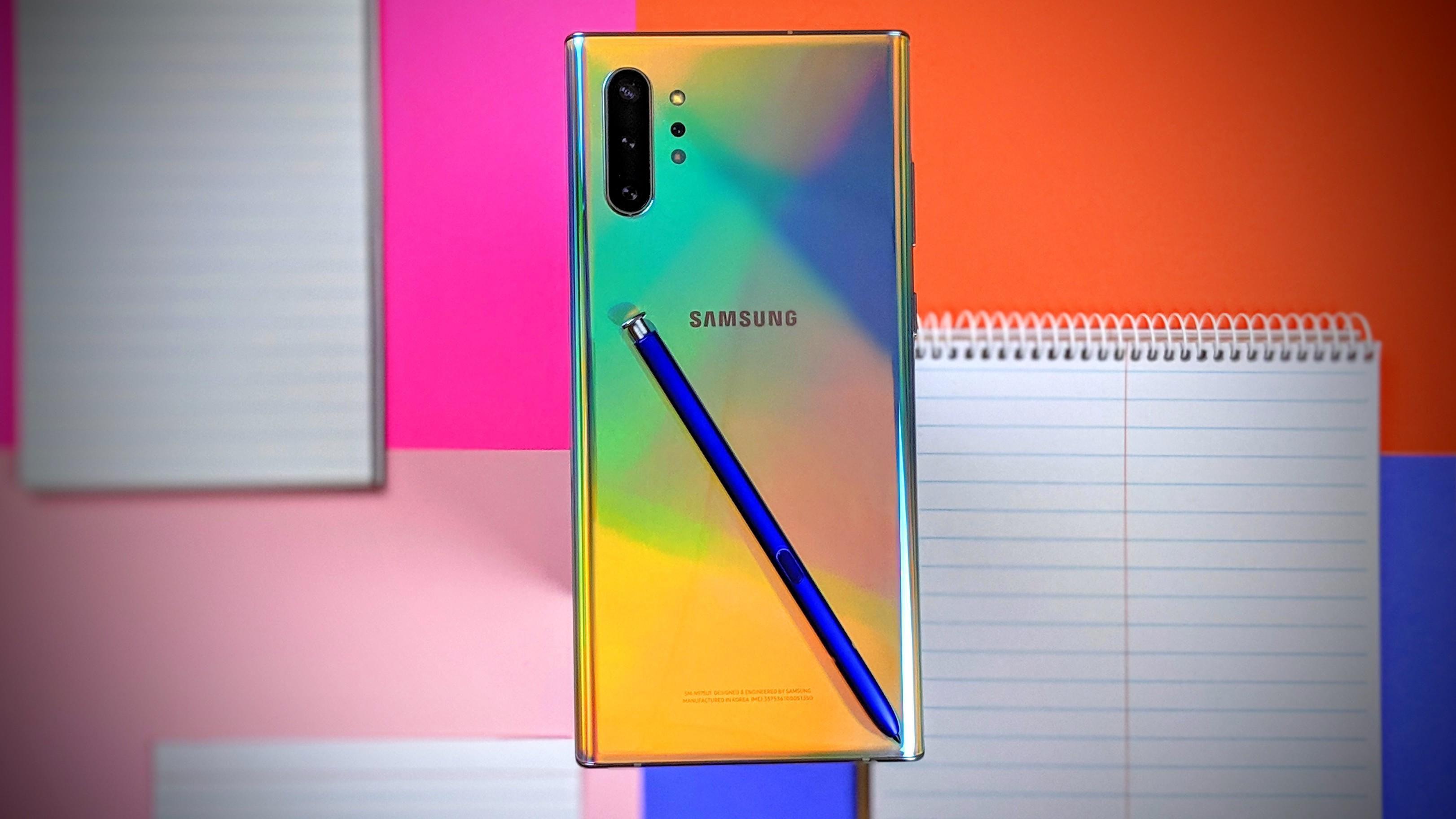 Samsung выпустила специальную версию Galaxy Note 10 с акцентом на криптовалюту