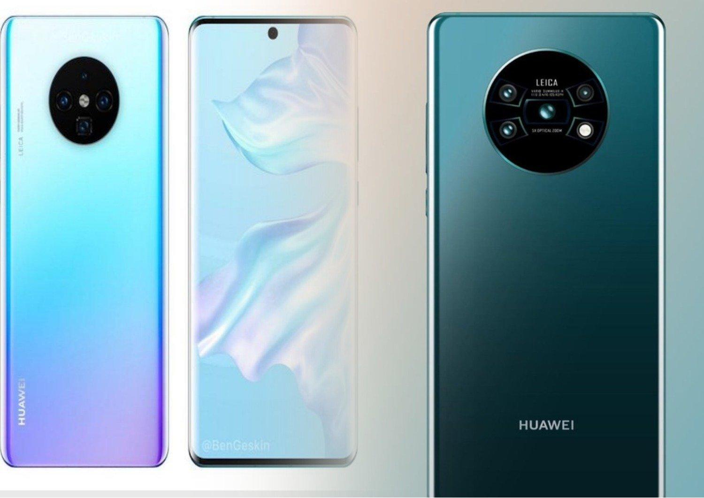 Новая утечка продемонстрировала дизайн задней панели Huawei Mate 30