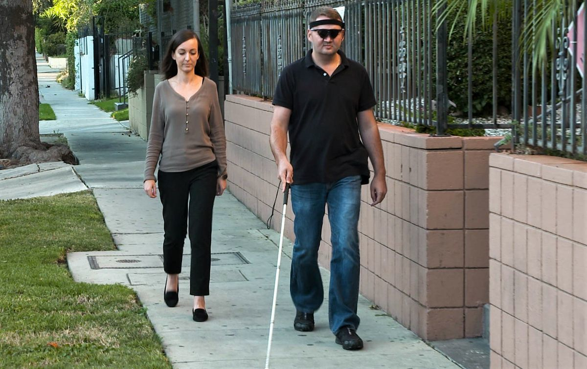 слепых сделали зрячими помощи компьютерной техники
