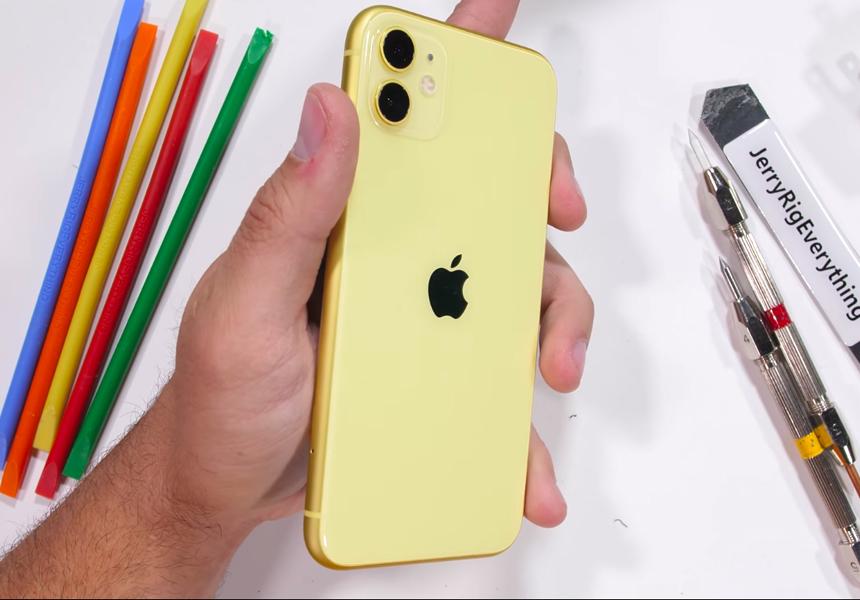 Блогер проверил iPhone 11 на прочность и не нашёл преимуществ перед Android-смартфонами