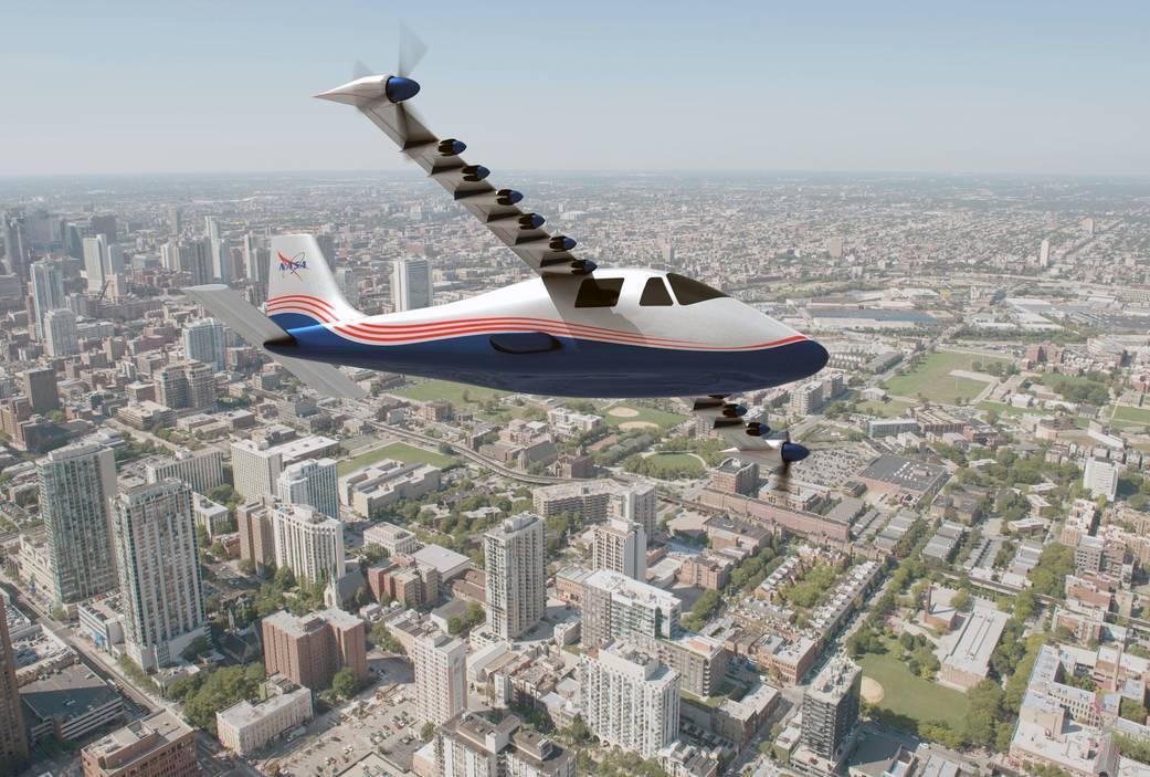 США готовят испытание первого полностью электрического самолета