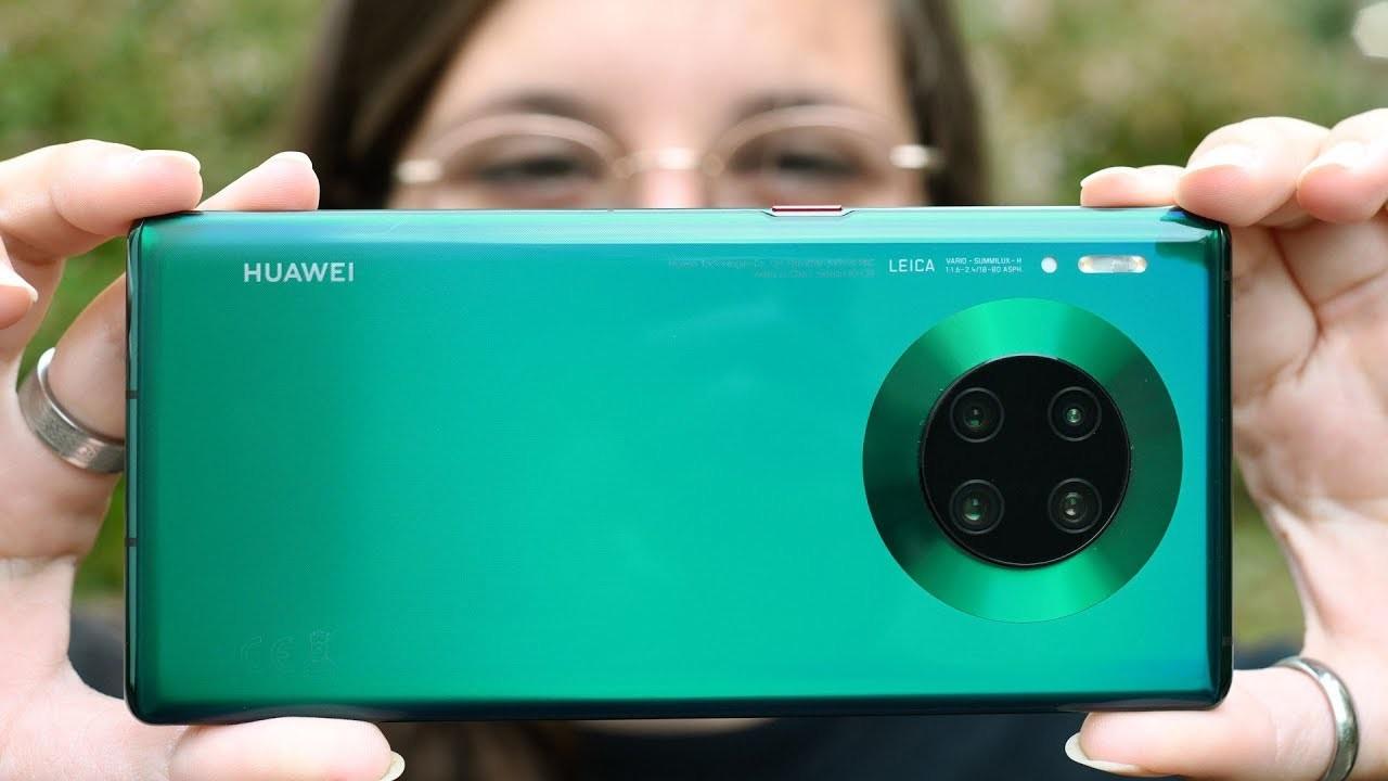 Huawei улучшила камеру в своем флагманском камерофоне