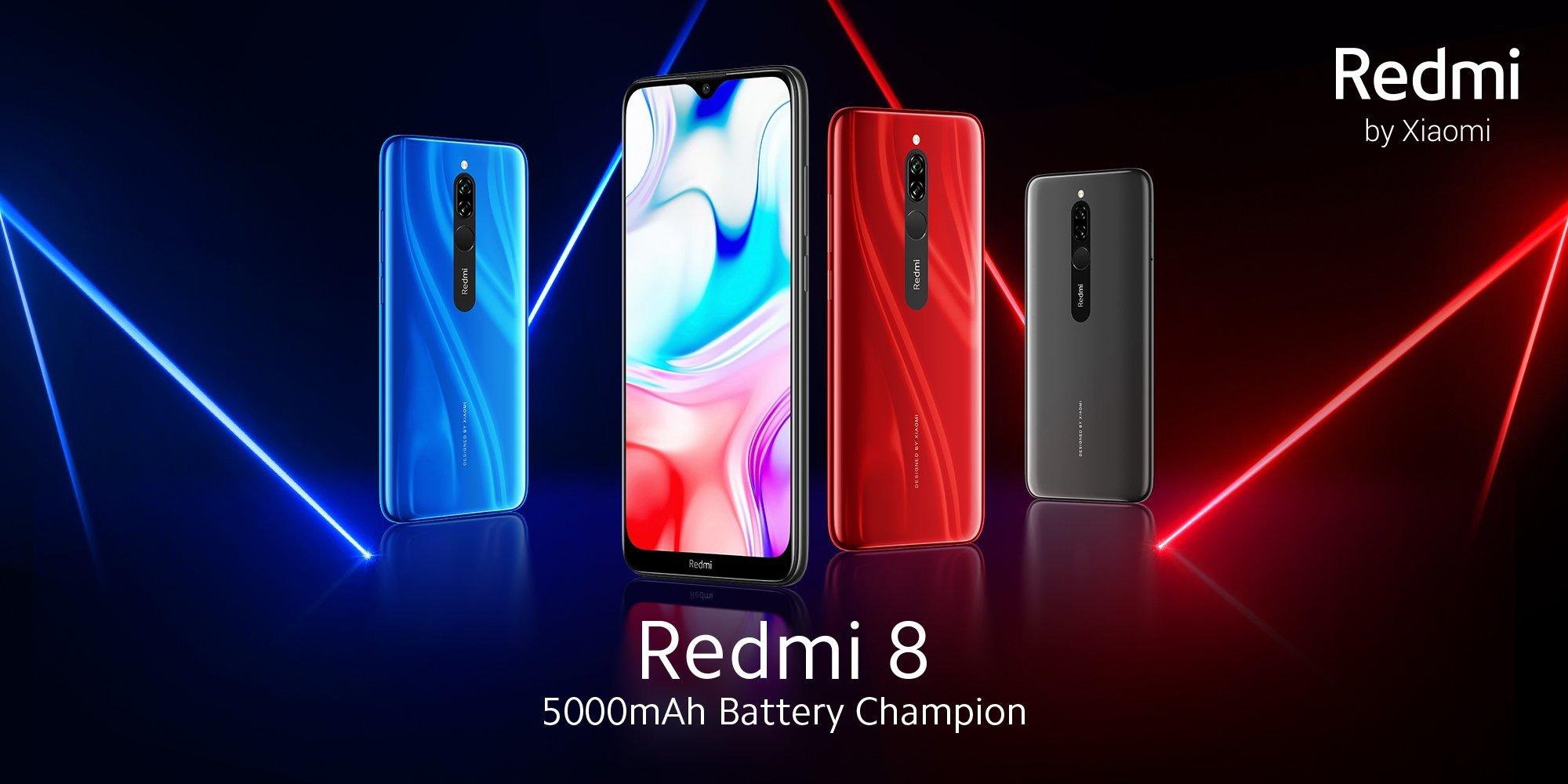 Xiaomi анонсировала сверхдешевый смартфон с аккумулятором на 5 000 мАч