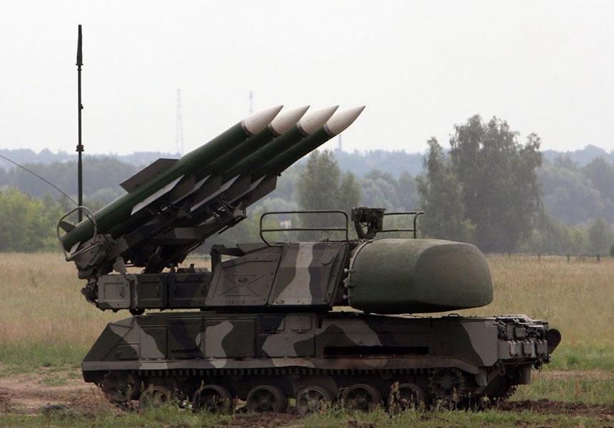 Украина проведёт ракетную стрельбу на границе с Крымом