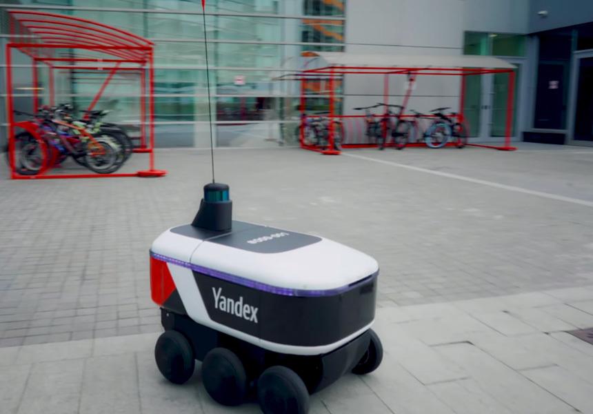 Яндекс запустил робота-доставщика