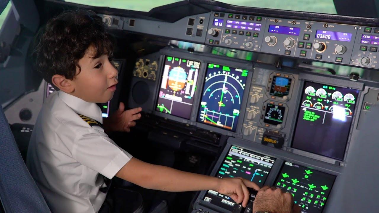 В России пилотов самолетов будут готовить с 12-летнего возраста