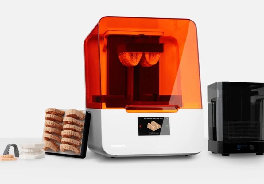 Создан 3D-принтер для зубных протезов