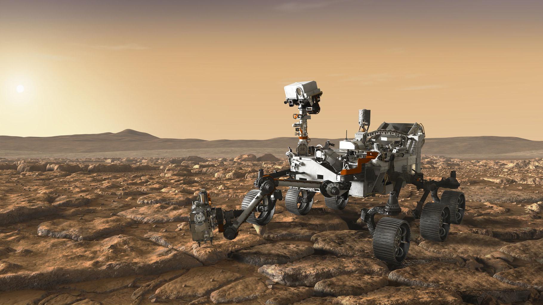 китай успешно провел тестовую посадку собственного марсохода