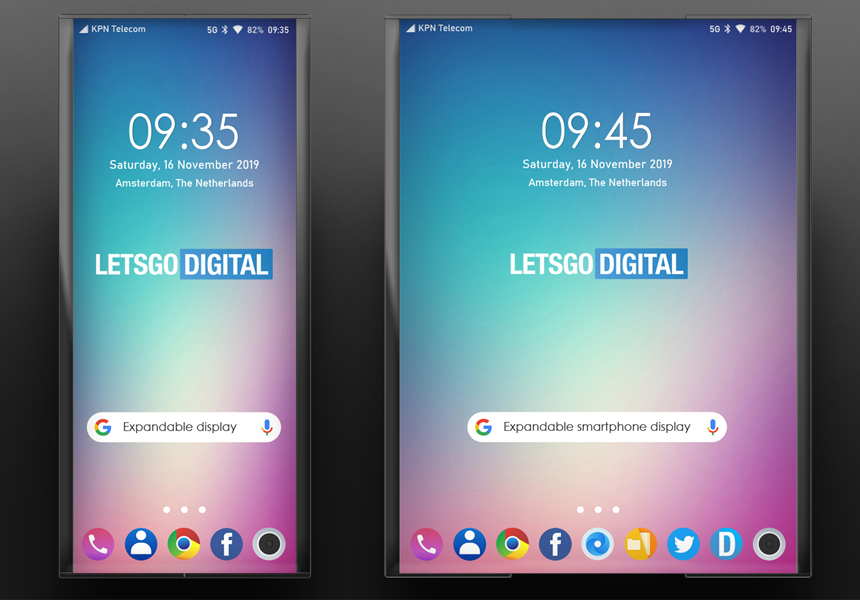 LG изобрела растягивающийся в планшет смартфон